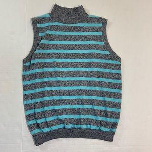 Diane Von Furstenberg Turtleneck Sweater Vest M